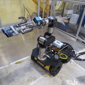 Robot de démantèlement en centrale nucléaire
