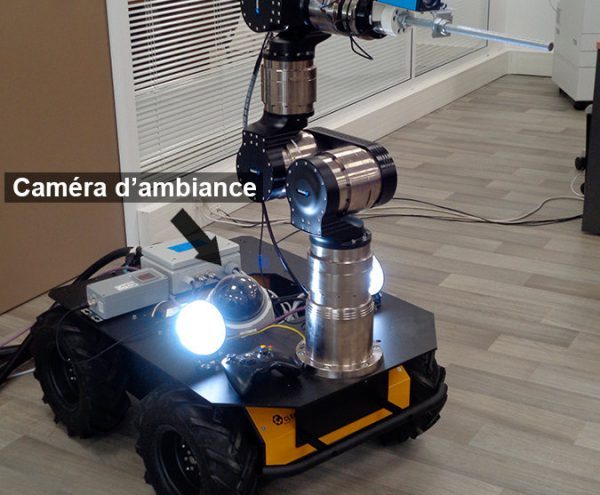 teleoperated robotic arm for nuclear decommissioning